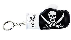 PORTACHIAVI-pelle-porta-chiavi-auto-pirate-Guantoni-da-boxe-bandiera-pirata