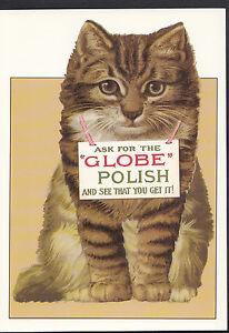 Advertising-Postcard-Globe-Metal-Polish-Series-Robert-Opie-Collection-A8080