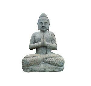 Aus-60 Buddha Figur Tempelwächter Buddha stein Budha Steinfigur ...