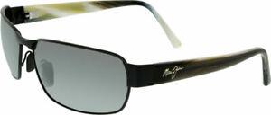 Maui Jim 249-2M Polarized Sunglasses - Matte Black with MJ Hard Case