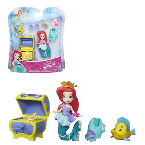Disney Princess Little Kingdom Ariels Treasure Chest Toy Figure With Accessories