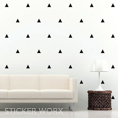Triangle Wall Stickers, wall decals, wall art