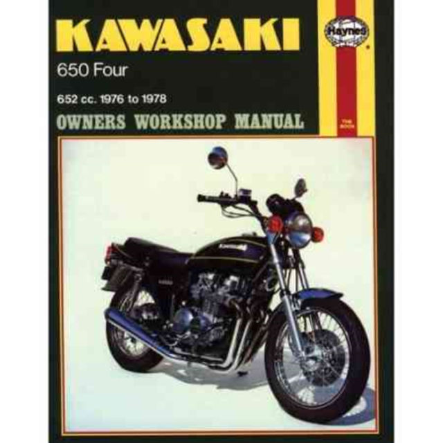 1976-1978 Kawasaki Z650 KZ650 Z KZ 650 REPAIR MANUAL NEW Owners Book Service