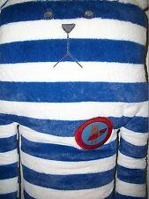 Craftholic Blue Border Surfer Club Teddy Bear, 17 inches tall