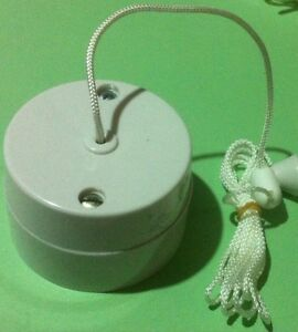 Vintage-Pull-Switch-Crabtree-2041-6A-Ceiling-pull-cord-switch
