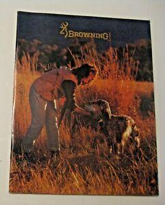 Humoristique Nouveau Stock Ancien Vintage 1990-91 Browning Gun + + Catalogue ~ Voir Tous Nos Gun Shooting Catalogues-afficher Le Titre D'origine