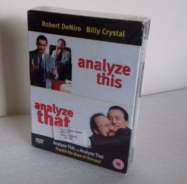 Analyze This  Analyze That  DVD Boxset New & Sealed