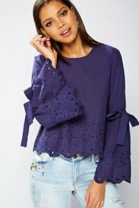 Brave-Soul-Bell-Sleeve-Top-Talla-S