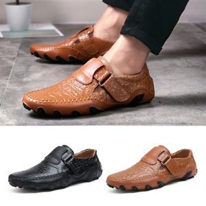 new loafers men's driving moccasins shoesleather slip