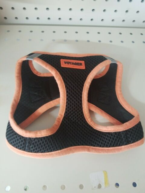 Voyager Step-In Dog Harness, All Weather Mesh, MEDIUM - ORANGE - Chest 16-18""