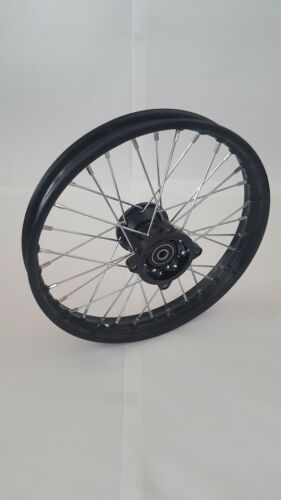 "Cerchio 1,4 x 14 /"" Anteriore Dirt Bike Asse ø12mm Pneumatici Pittbike"