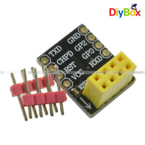 5PCS Adapter for ESP-01S ESP8266 ESP-01 Wifi Transceiver Module Breakout
