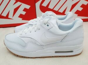 Details about NIKE OLDER KIDS TRAINERS SNEAKERS AIR MAX 1 (GS) WHITE 807602 113 RRP £65