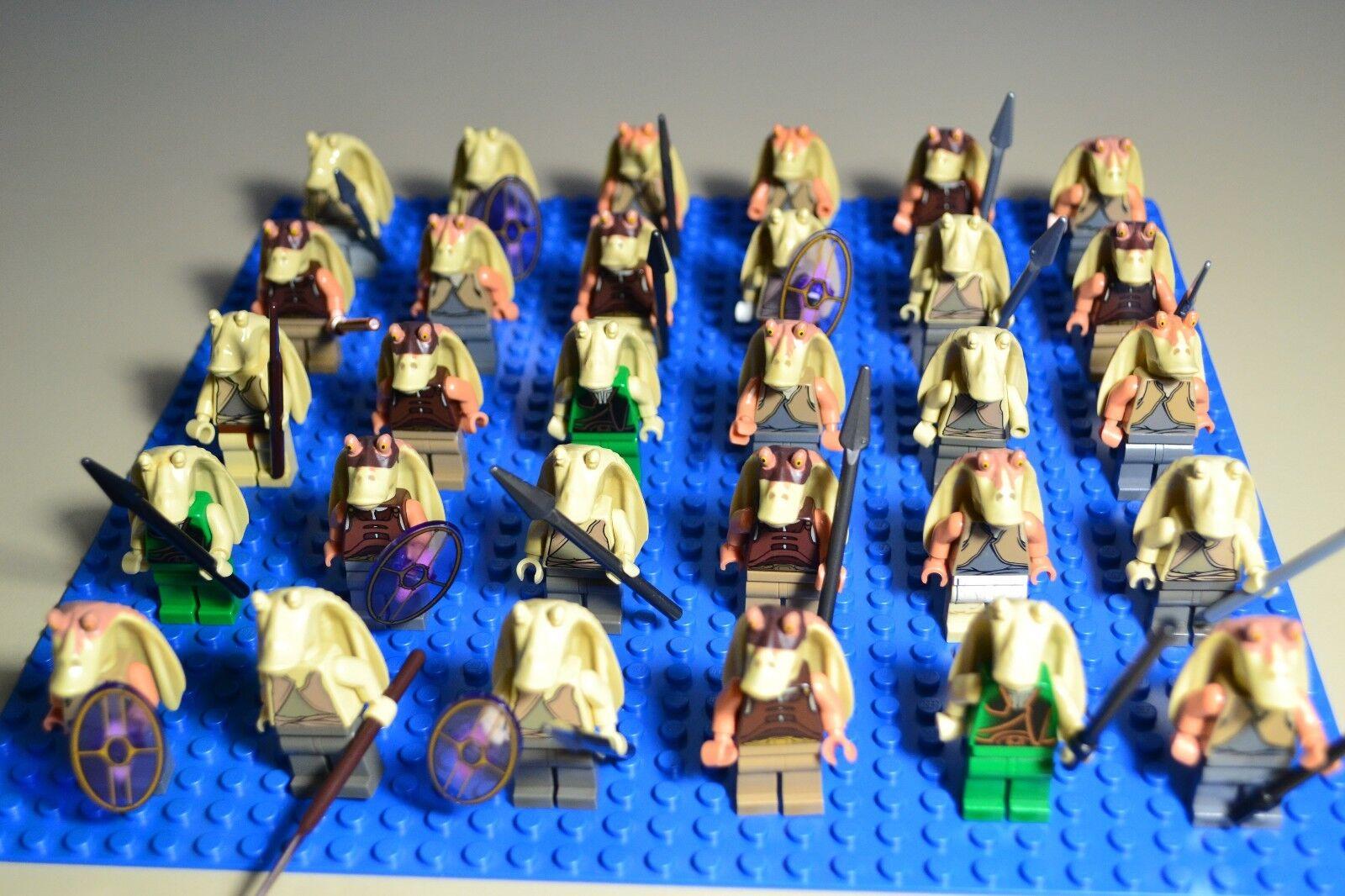 LEGO Star Wars Jar Jar Binks Minifigure Lot