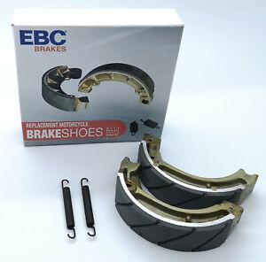 Honda-C90-Cub-amp-Other-Honda-EBC-Grooved-Brake-Shoes-amp-Springs-Race-Enduro-H304G