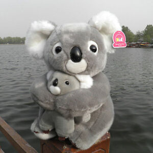 11-039-039-Koala-Bear-Mother-amp-Son-Authentic-Club-Plush-Stuffed-Pillow-Fancy-Soft-Toys