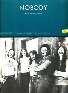The Doobie Brothers Nobody Sheet Music Piano Vocal Guitar Chords 1974 Rare New Ebay Settin' out on a voyage down to jenner. ebay