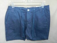 Natural Reflections Ladies Size 8 Blue Twill Shorts