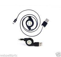 Câble Rétractable - Noir -iphone 5 /ipod Nano 7 /ipod Touch 5 /ipad Mini Neuf