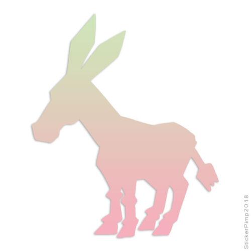Size #1312 Donkey Mule Hinny Decal Sticker Choose Pattern
