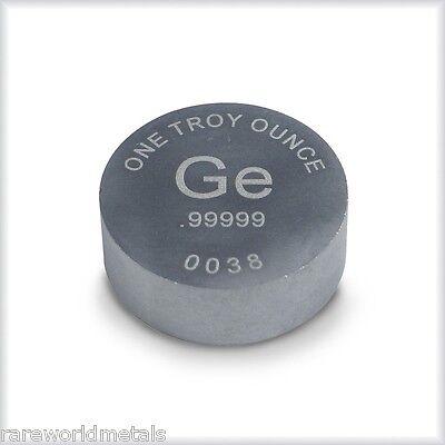 Germanium ingot - Rare World Metals Mint - 1 troy oz - .99999 bullion