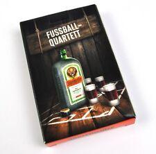 Jägermeister Spielkarten Karten Fußball Quartett Kartenspiel