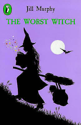 The Worst Witch (Puffin Books) by Jill Murphy, Good Used Book (Paperback) FREE &