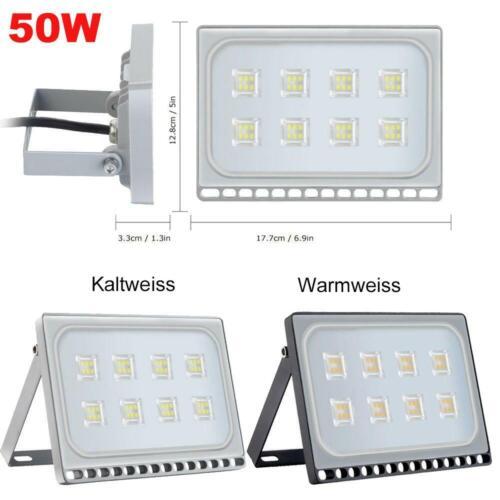 10W 20W 30W 50W 100W 150W 200W 300W 500W LED Fluter Flutlicht Strahler Bewegung