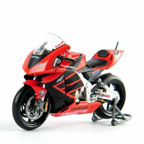 New 1//18 VALENTINO RC211V 46# Motorcycle Model Diecast Motorbike Hot Sell Toy