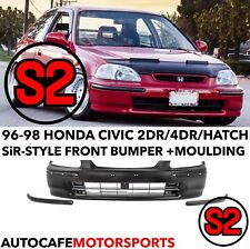 New Honda Civic SO4 EK3 EK 4Door Rear Bumper Molding Impact Pad 96-98 FERIO Trim