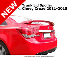 For Chevy Cruze 2011 2015 Trunk Rear Spoiler Painted Black Graphite Met Wa501q Fits Cruze