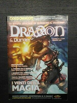 Rivista Dragon & Dungeon N.10 Nexus Editrice