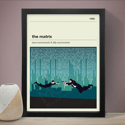 THE MATRIX Alternative Minimal Movie Poster