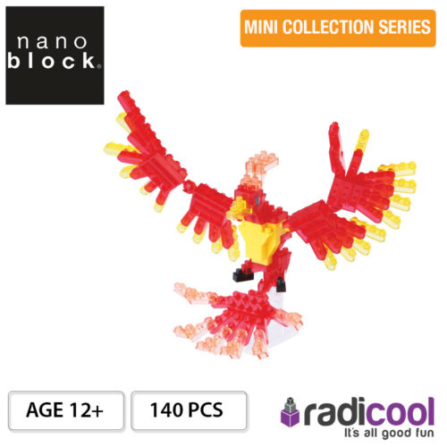 NBC175 Nanoblock Phoenix 140 pcs 12 Mini Collection Series Ans