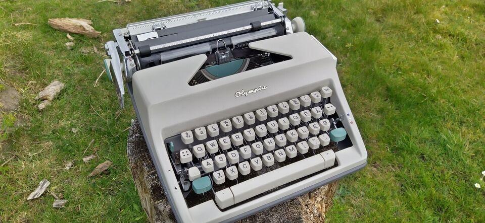 Olympia SM9 skrivemaskine