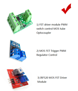 15A 400W//IRF520// FET driver module PWM switch control high power MOS tube module