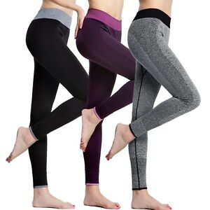 65369212b17d6e Image is loading Womens-Ladies-Yoga-Fitness-Running-Leggings-Gym-Exercise-