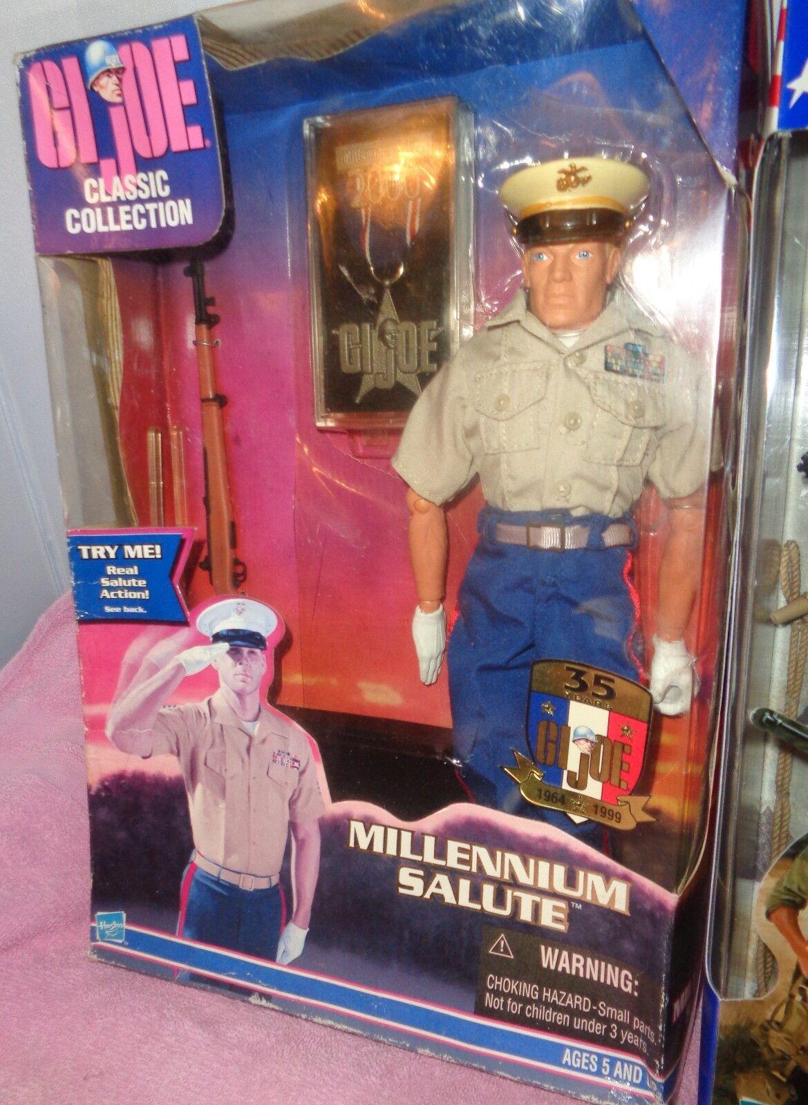 GI Joe Action Figure Classic Coll. Millennium Millennium Millennium Salute & Marine Raider 1999 & 2001 75dfb8