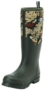 """Duck and Fish Men 16"""" Neoprene High overlay Rubber Molded Outsole Knee boots"""