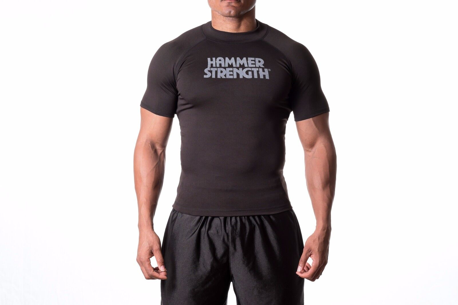 Hammer Strength Apparel Shirt Game Day Compression T Shirt Apparel Transpor Stay Dry Fabric 32f85f