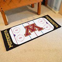 Minnesota Gophers 30 X 72 Hockey Rink Runner Area Rug Floor Mat