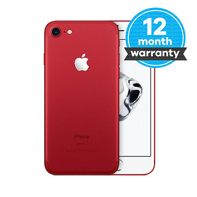 Apple iPhone 7 (PRODUCT)RED 128GB Unlocked Smartphone Pristine (A)