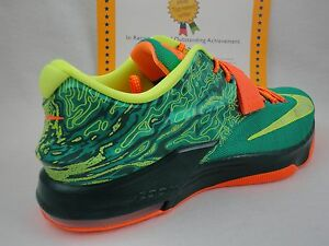 los angeles 58346 57da2 Image is loading Nike-KD-VII-7-Weatherman-Emerald-Green-Limited-