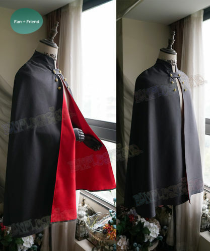 Over the Garden Wall Wirt Mantle Cape Robe Cosplay Costume {56}