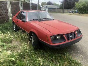 1983 Ford Mustang L
