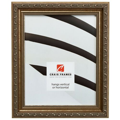 "1.325/"" Antique Silver Picture Frame Craig Frames Ancien Ornate"