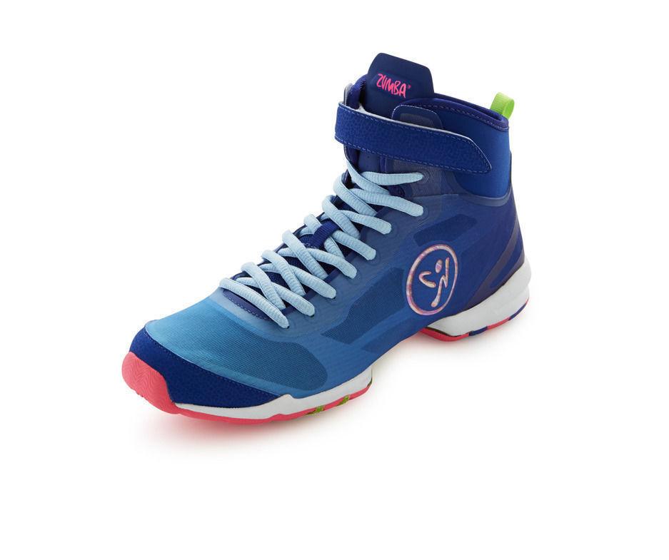 Zumba Flex II High Chaussures - Bleu/Rose
