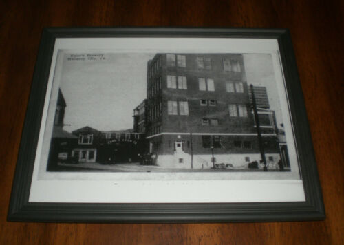 CHAS D Details about  /KAIER/'S BREWERY FRAMED B/&W PRINTS YOUR CHOICE KAIER
