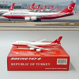 SALE-Turkey-Government-B747-8i-Reg-TC-TRK-Scale-1-400-Diecast-Models