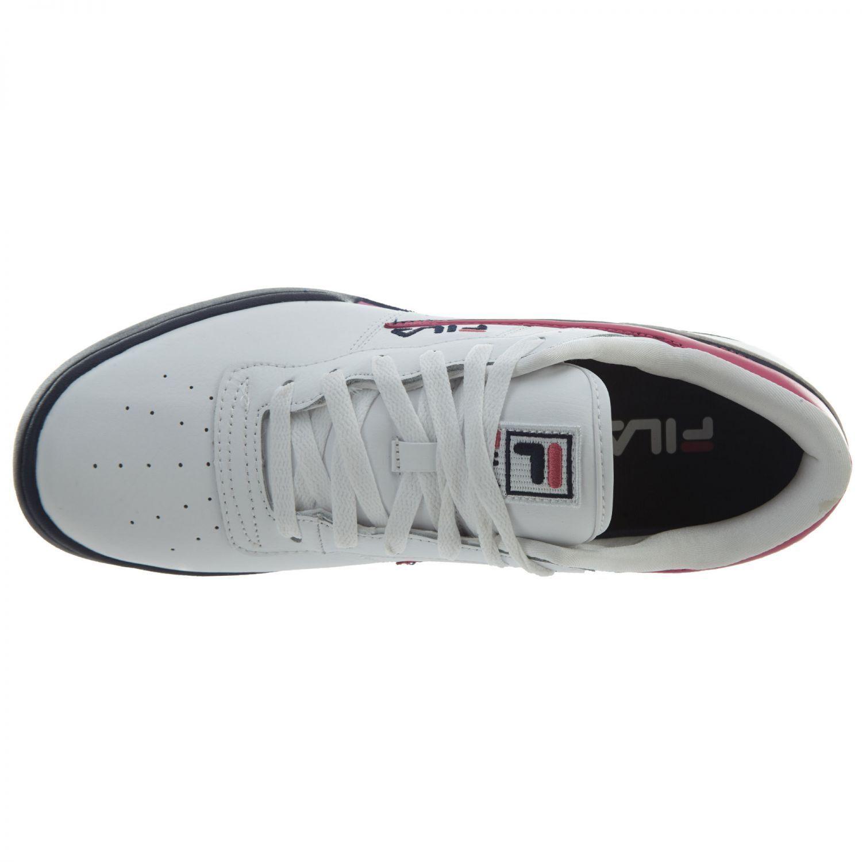 sports shoes 775f4 d71c2 ... Fila original original original Fitness Hombre 1fm00081-148 Blanco Navy  rosa calzado deportivo cómodo estacional